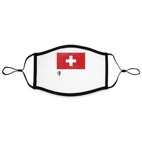 Echter Eidgenosse Schweiz - Kontrastmaske, einstellbar (Large)