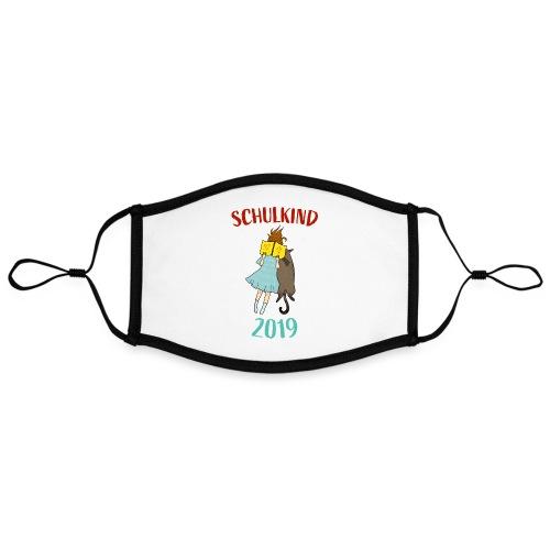 Schulkind 2019   Einschulung und Schulanfang - Kontrastmaske, einstellbar (Large)