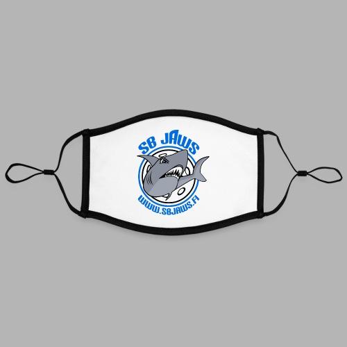 SB JAWS - Kontrastivärinen maski, säädettävä (large)