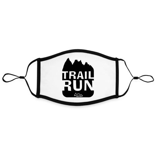 Trail Run - Kontrastmaske, einstellbar (Large)