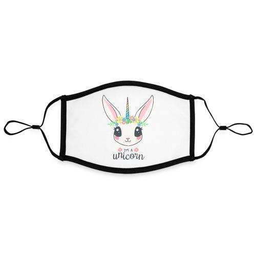 I am Unicorn - Kontrastmaske, einstellbar (Large)