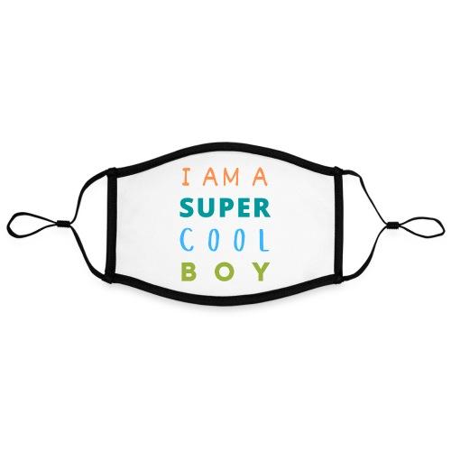 I AM A SUPER COOL BOY - Kontrastmaske, einstellbar (Large)