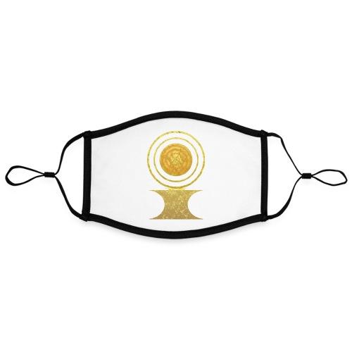 Native America Indianer Symbol Hopi ssl Sonne - Kontrastmaske, einstellbar (Large)