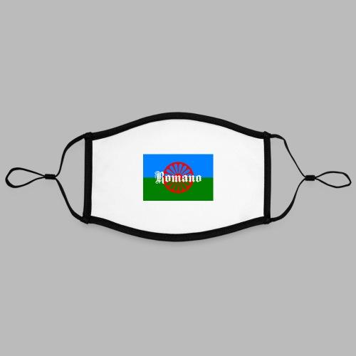 Flag of the Romanilenny people svg - Kontrastmask, justerbar (large)