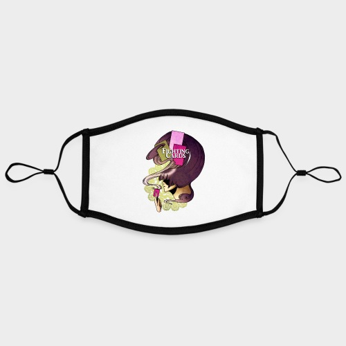 Fighting cards - Invocateur - Masque contrasté, réglable (taille L)