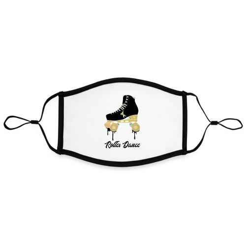 GH quad roller dance black - Masque contrasté, réglable (taille L)