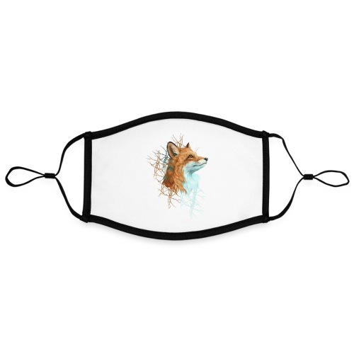 Happy the Fox - Kontrastmaske, einstellbar (Large)