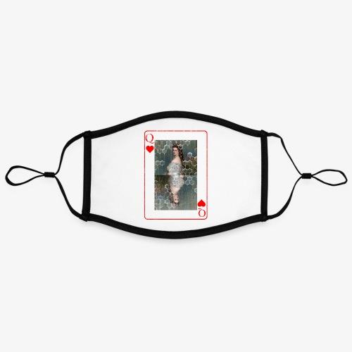 Kaiserin Sissi spielkarte Österreich - Kontrastmaske, einstellbar (Large)