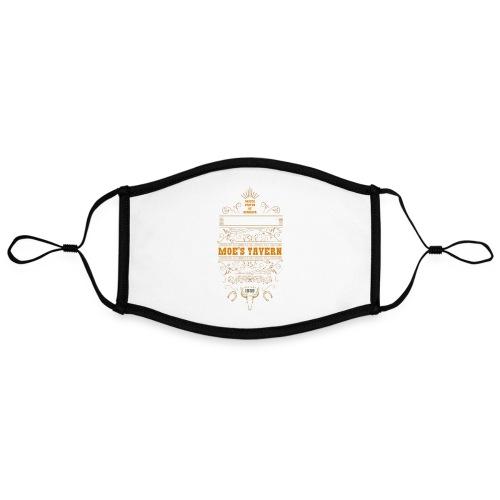 Springfield Moe's Tavern - Kontrastowa maska, regulowana (rozmiar L)