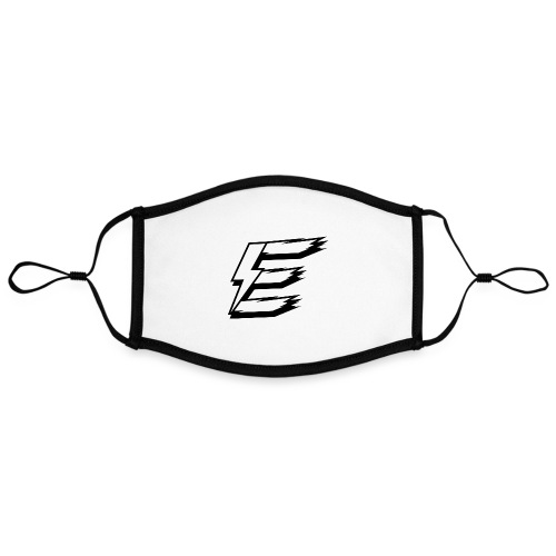 White Logo - Contrast mask, adjustable (large)