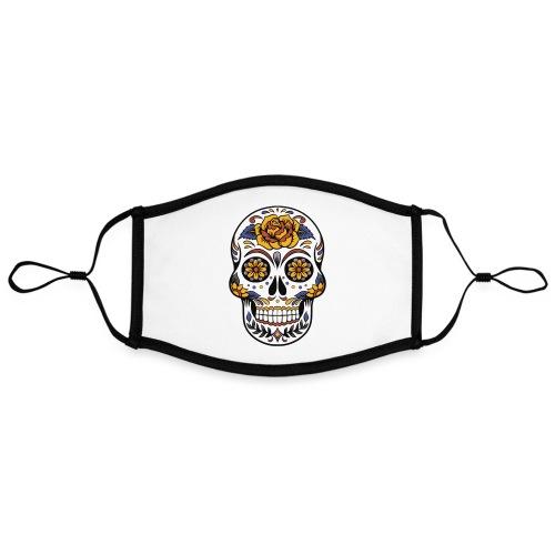 skull mexiko mexico - Kontrastmaske, einstellbar (Large)