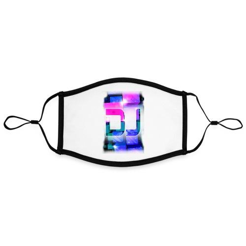 DJ by Florian VIRIOT - Masque contrasté, réglable (taille L)