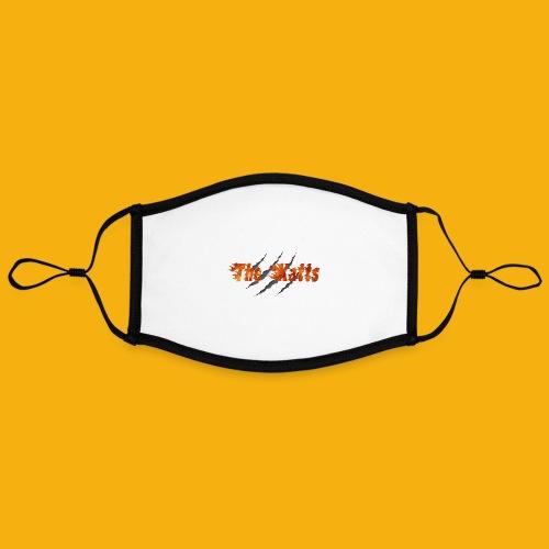 The Katts (logo 21x11) - Masque contrasté, réglable (taille L)