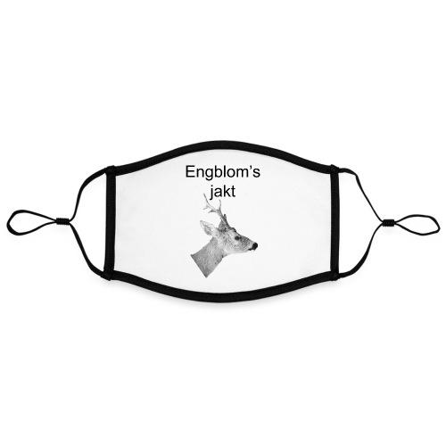 Officiell logo by Engbloms jakt - Kontrastmask, justerbar (large)
