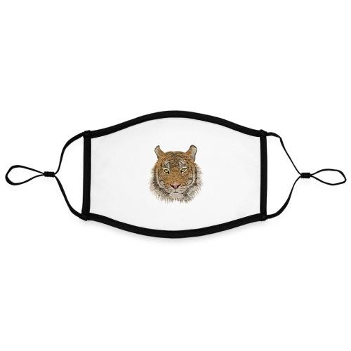 Tiger - Kontrastmaske, einstellbar (Large)