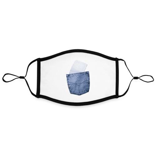 Jeans Baggy by #OneCreativeArts - Kontrastmaske, einstellbar (Large)