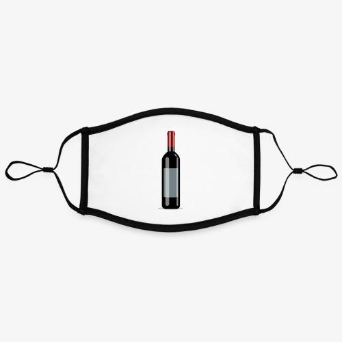 winejw - Kontrastowa maska, regulowana (rozmiar L)