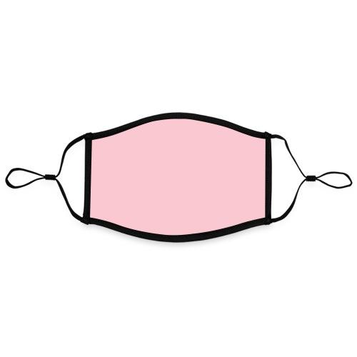 Mask Pink - Mascarilla contraste, ajustable (grande)