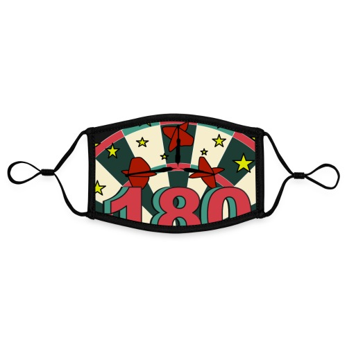 Darts 180 - Kontrastmaske, einstellbar (Small)
