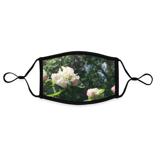 The Flower Shirt - Æbleblomster - Kontrastmaske, indstillelig (small)