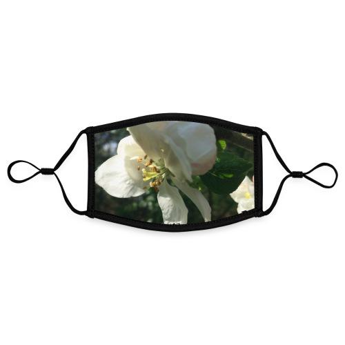 The Flower Shirt - Æble - Kontrastmaske, indstillelig (small)