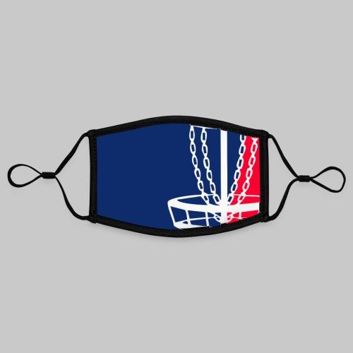 Disc golf - Kontrastivärinen maski, säädettävä (small)