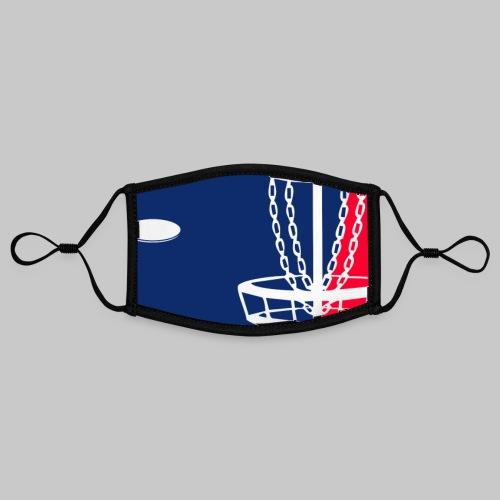 Major League Frisbeegolf - Kontrastivärinen maski, säädettävä (small)