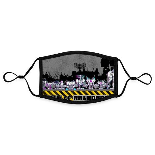 #MarchOfRobots ! LineUp Nr 2 - Kontrastmaske, indstillelig (small)
