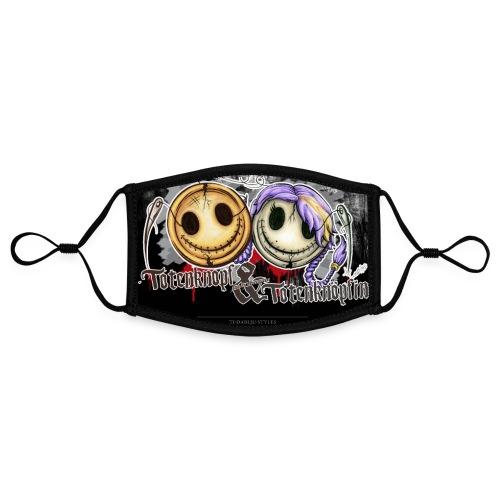 Poster totenknopf totenknöpfin - Kontrastmaske, einstellbar (Small)