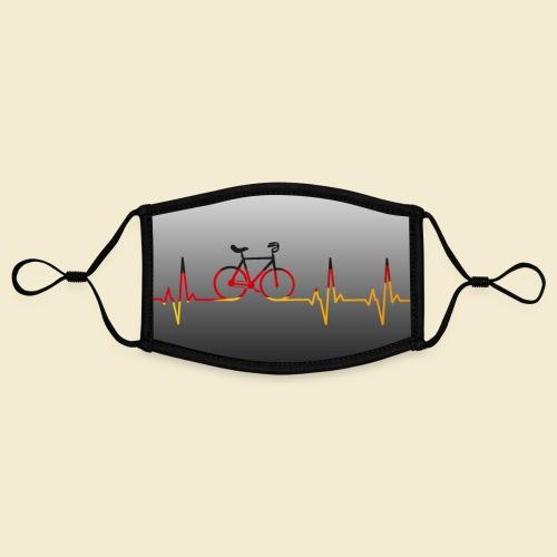 Kunstrad Heart Monitor Maske - Kontrastmaske, einstellbar (Small)