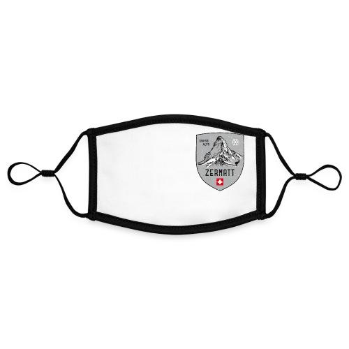 Zermatt Schweiz Wappen - Contrast mask, adjustable (small)
