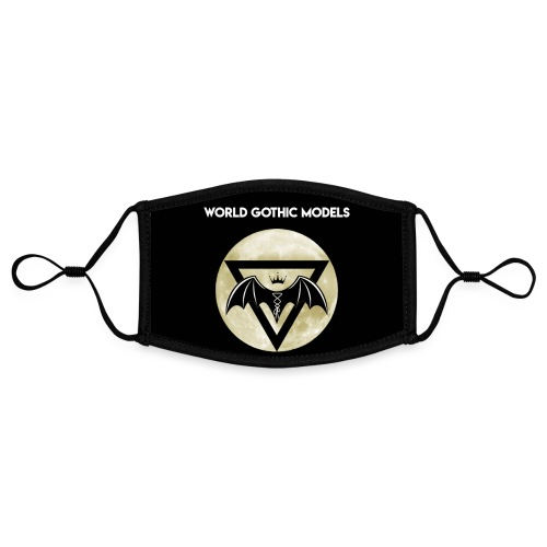 WGM Moon Logo One Side Design - Contrast mask, adjustable (small)