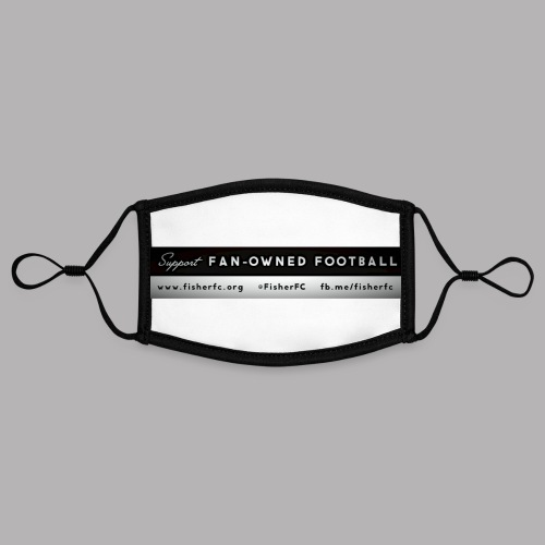 Fan Owned banner - Contrast mask, adjustable (small)