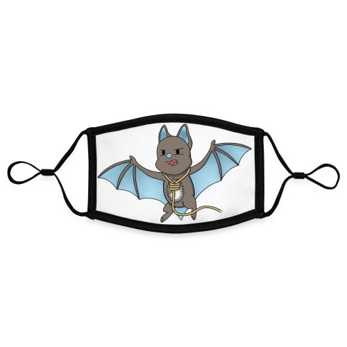 Bat Damon - Contrast mask, adjustable (small)