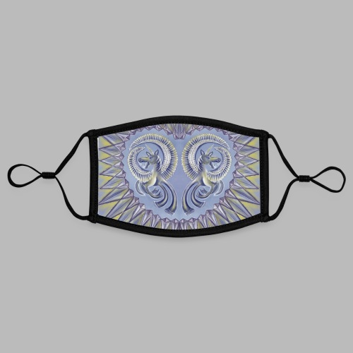 Pegasus [face mask] - Contrast mask, adjustable (small)