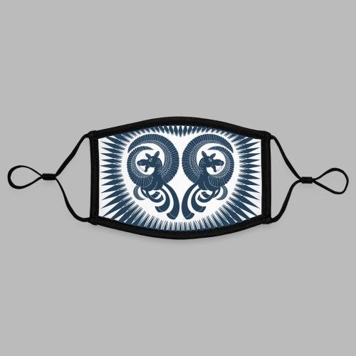 Dark Horse [face mask] - Contrast mask, adjustable (small)