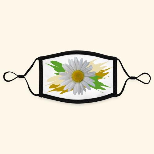 Margeriten Blüte, Blumen, floral, Gänseblümchen - Kontrastmaske, einstellbar (Small)