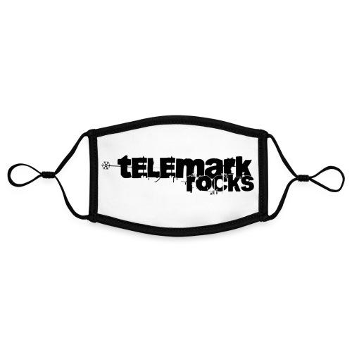 telemark rocks - Kontrastmaske, einstellbar (Small)