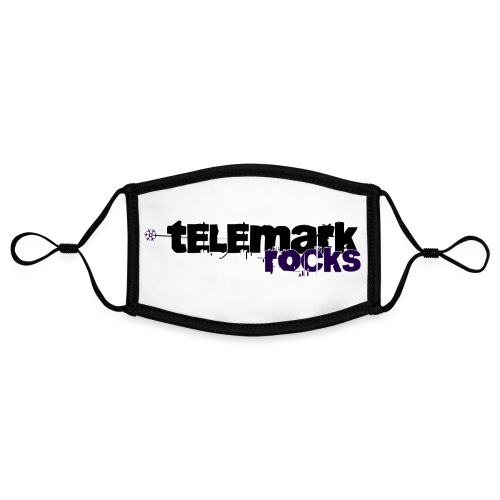 telemark rocks blau - Kontrastmaske, einstellbar (Small)