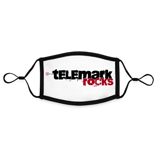 telemark rocks rot - Kontrastmaske, einstellbar (Small)