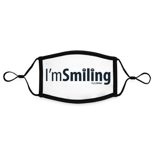 I am smiling - Kontrastmaske, kan innstilles (liten)