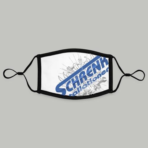 SCHRENKTOOL / bitte max.40°+ links waschen - Kontrastmaske, einstellbar (Small)
