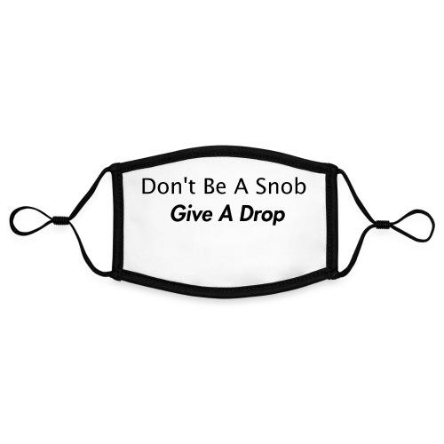 Give a drop - Kontrastmaske, indstillelig (small)