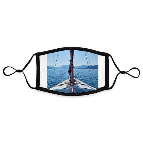 Sailing Printdesign - Kontrastmaske, einstellbar (Small)