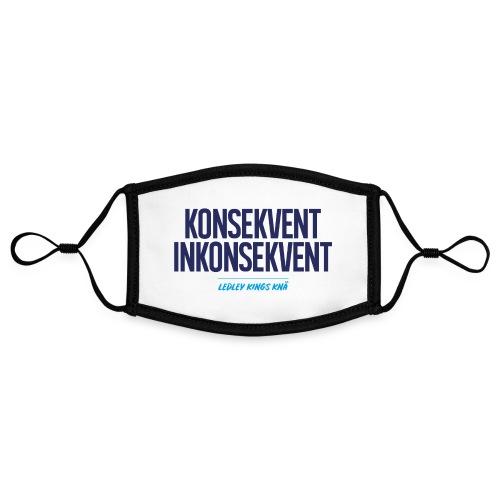 Konsekvent inkonsekvent - Kontrastmask, justerbar (small)