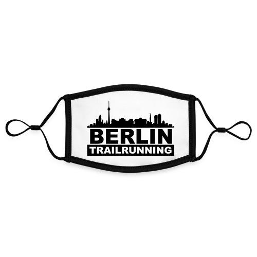 Berlin Trailrunning - Kontrastmaske, einstellbar (Small)