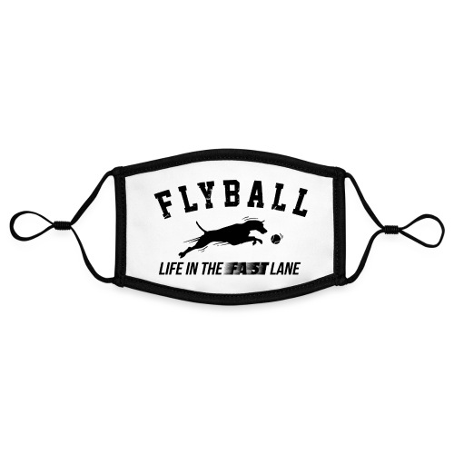 flyball - Contrast mask, adjustable (small)
