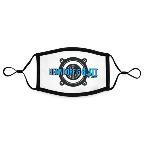 Henndorf & Blatt Kollektion - Kontrastmaske, einstellbar (Small)