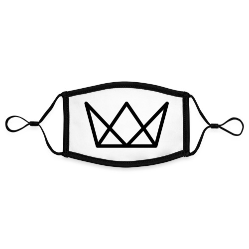TKG Krone schwarz CMYK - Kontrastmaske, einstellbar (Small)