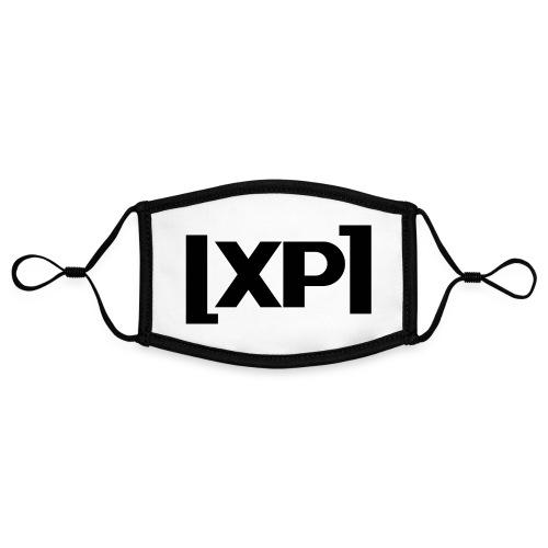 Klammelogo XP (sort) - Kontrastmaske, indstillelig (small)